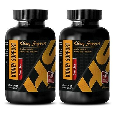 urinary tract health - KIDNEY SUPPORT - cranberry vitamins - 2 Bottles