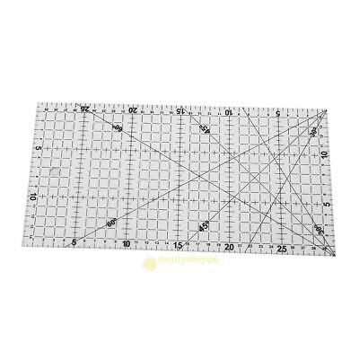 30 X 15cm Big Size Thick Triangle Cloth Patchwork Ruler Scale Sewing DIY Tool