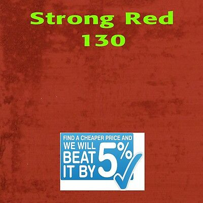 STRONG RED 130 Dye/Pigment for Concrete, Render, Mortar & Cement colour dye