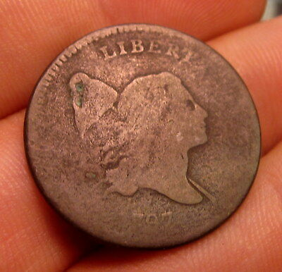 1794 1/2 Half Cent ✪ Good G ✪ Liberty Capped Head L@@k Now Rare Coin ◢Trusted◣