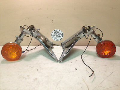 Off a 1983 Honda VT750 Shadow Left & Right Turn Signals & Mounts *AFTERMARKET*