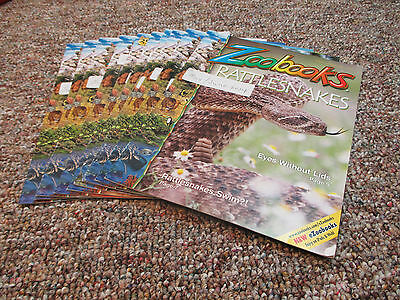 LOT OF x10 ZOOBOOKS MAGAZINES 2013, 2014 & 2015 EX-LIBRARY