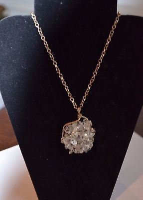 Cookie Lee  Sun-Kissed Nuggets Pendant Necklace    NWT