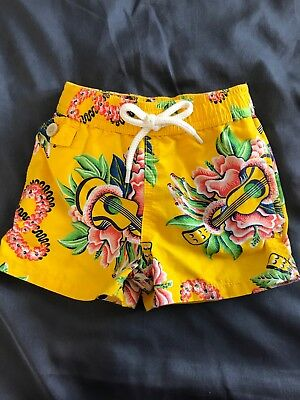 Polo Ralph Lauren swim trunks 9 months great condition worn once