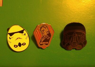 Disney Pins - Set of 3 Star Wars pins