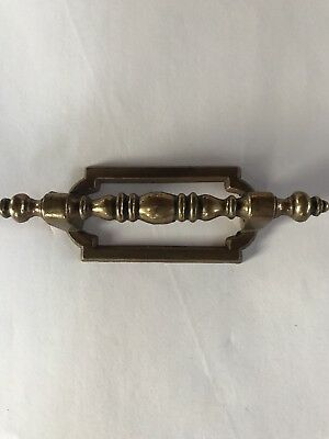 Vintage Brass Cabinet Door Drawer Handle Dresser Pull Knobs