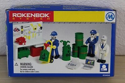 Metropolitan Workers Set #03402 Rokenbok System Building 1999 NEW in Box