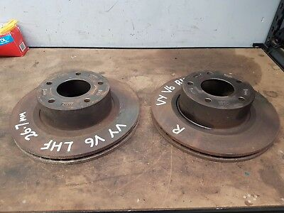 Holden Vy Commodore Pair Of Front Disc Rotors