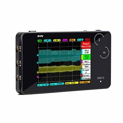 LCD Screen Display Oscilloscope Pocket-size USB Portable Digital Storage  AU