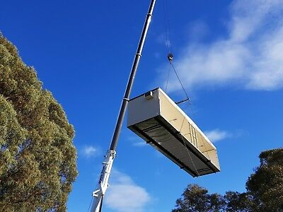Portable Building Granny Flat Donga Site Office INSTALLATION AND REMOVALS