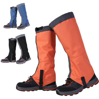 Waterproof Outdoor Hiking Snow Leg Legging Cover Gaiters Hunting Climbing