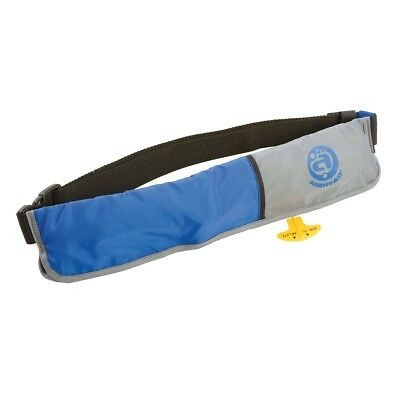 Airhead Manual 16G Inflatable Paddleboard Belt Pack Life Jacket PFD Blue/Grey