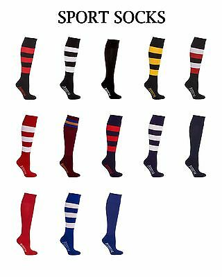 Sport Socks 7PSS Podium Kids Adults Football Rugby Soccer AFL Footy Socks knee h