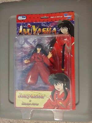 2004 Convention Exclusive: Inuyasha in Human Form Action Figure Toynami - RARE
