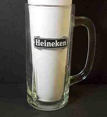 Heineken glass beer mug 10 oz
