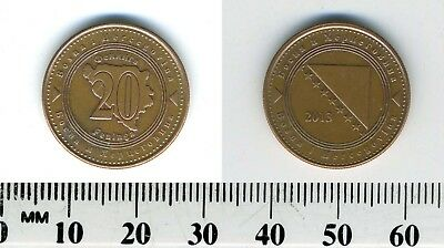 Bosnia-Herzegovina 2013 - 20 Feninga Copper Plated Steel Coin