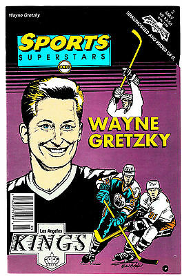 SPORTS SUPERSTARS #2 WAYNE GRETZKY 1 SHOT NM- Revolutionary Comics Unauthorized