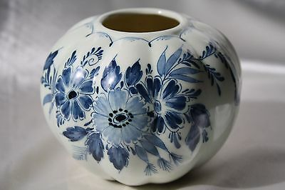 Delft Blue Sugar Jar Handpainted in Holland