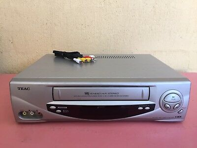 Serviced Teac MV-6090 Stereo Video Recorder Player No REMOTE VHS Player VCR
