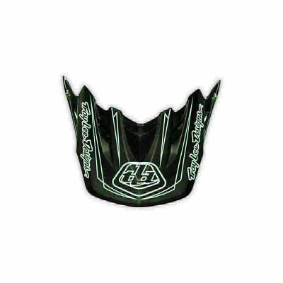 Troy Lee Designs Tld Se3 Helmet Visor Pinstripe White Motocross Dirt Bike Moto