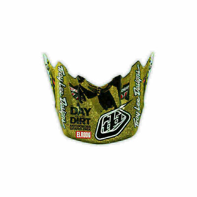 TROY LEE DESIGNS TLD SE3 HELMET VISOR DITD Gold MX MOTOCROSS DIRT BIKE MOTO