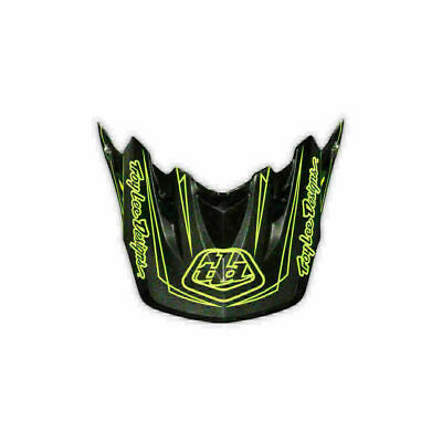 Troy Lee Designs Tld Se3 Helmet Visor Pinstripe Yellow Motocross Dirt Bike Moto