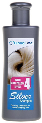 Best Price Blond Time SILVER SHAMPOO with ANTI YELLOW EFFECT Silver Colour 150ml