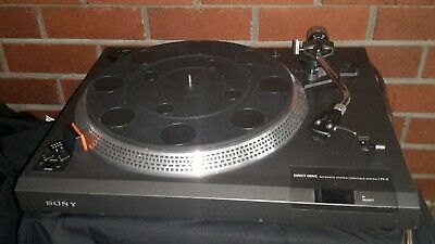 SONY PS-11 DIRECT Drive TURNTABLE. All original parts.VINTAGE New Stylus. Rare