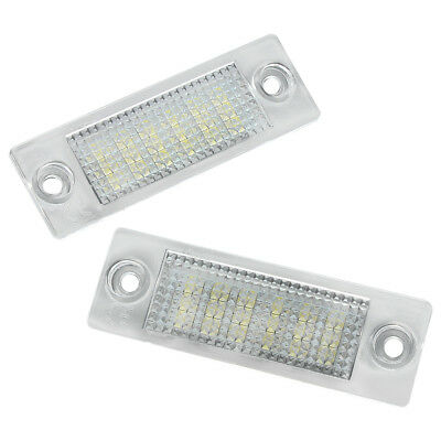 2X 18SMD LED License Number Plate Light For VW Golf T5 Transporter Jetta Caddy