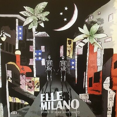 "ELLE MILANO- ""Acres of Dead Space Cadets (2008)""- Indie Rock- BRAND NEW CD"