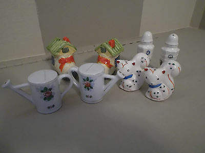 Lot Of Vintage Salt And Pepper Shakers (Set Of 4) Japan