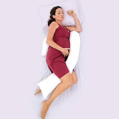 Maternity Support Body Pillow Pregnancy Adopt Optimum Baby Position for Birth