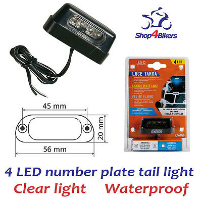 Motorcycle motorbike LED number plate tail tailtidy light fits yamaha by Lampa