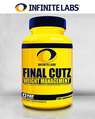 Infinite Labs Final Cutz 100 Caps Fat Burner phenyl hydroxycut shred core form