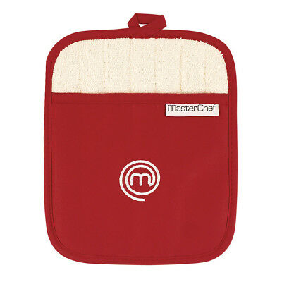 NEW MasterChef Pot Mitt Red