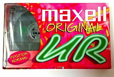 Maxell UR90 Ferric Blank Audio Cassette 90 Minute Tape New Sealed Stock