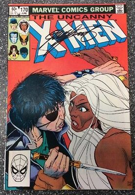 X-Men #170 (1983) SIGNED by Chris Claremont.