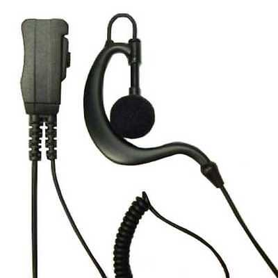 G-Shaped Earpiece with PTT and Mic Motorola MTH800 police security door staff
