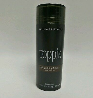 TOPPIK 27,5 g Haarverdichter Streuhaar Schütthaar Hair Fibers Dark Brown