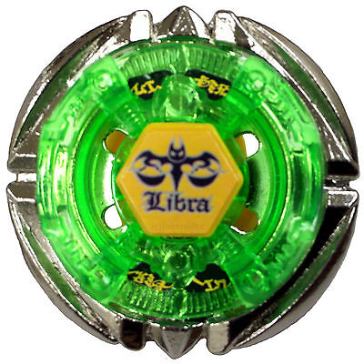 1PC Flame LIBRA Fight T125ES Metal Fusion 4D Beyblade BB-48 Green Children Gifts