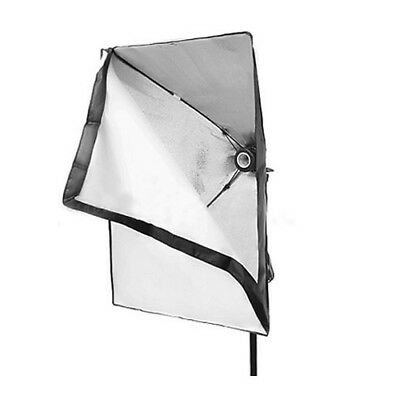 50 x 70cm Photo Video Studio Continuous Lighting Softbox E27 Holder Soft U7F5