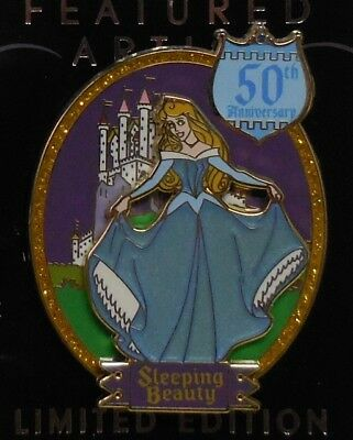 Disney Pin DLR Featured Artist Collection 2008 Sleeping Beauty Aurora Pin LE1000
