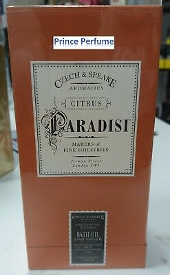 CZECH & SPEAKE PARADISI CITRUS BATH OIL - 200 ml