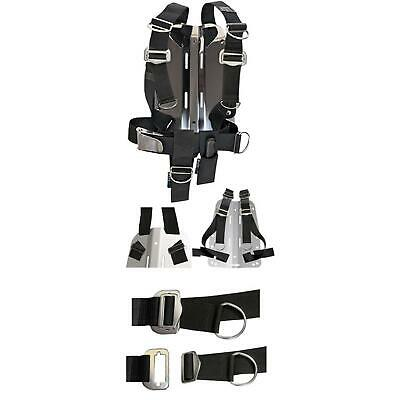 SF-1: Dir Zone Doppelwing Set Adjustable Harness, Backplate, STREAM RING 20 / 23