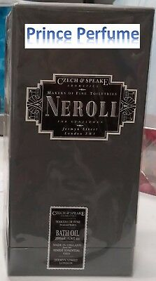 CZECH & SPEAKE NEROLI FOR GENTLEMEN BATH OIL - 200 ml
