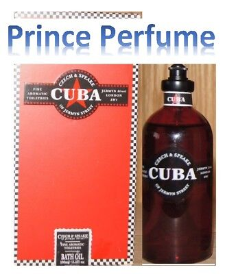CZECH & SPEAKE CUBA BATH OIL - 100 ml