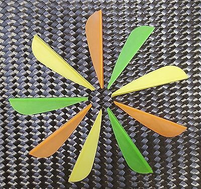 1 dozen (12) EP16 Fletchings Vanes for Archery Arrows