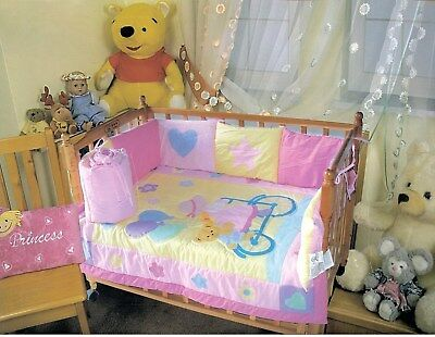 NEW – WHERE'S MY BLANKIE? 2PC Quilt & Bumper Baby Girls Bicycle Bedding Set