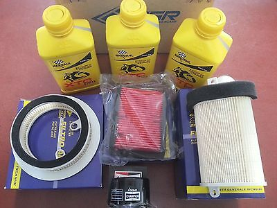 Oil Replacemenet Kit Barthal Xtc 10 50 Filters Air Oil Yamaha T-Max 500 08/11