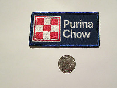Vintage Purina Chow Patch Old School Vintage Ralston Dog Cat Great For Hat